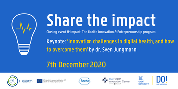Share the impact banner